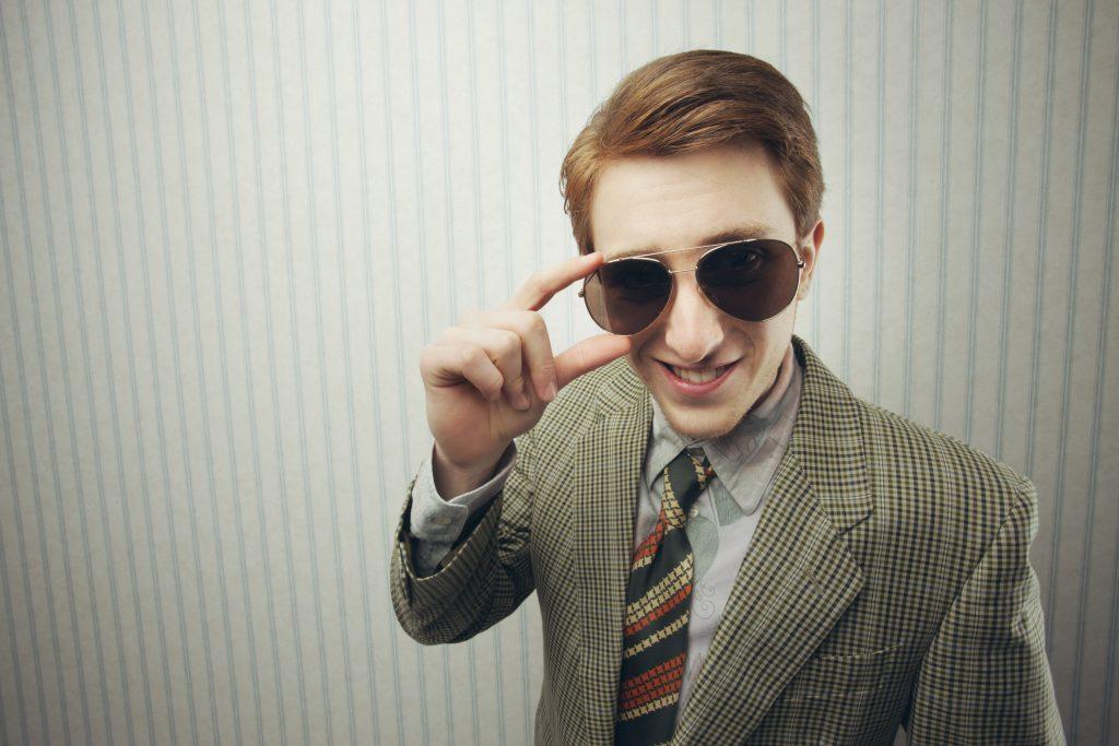 Sleazy Retro Businessman